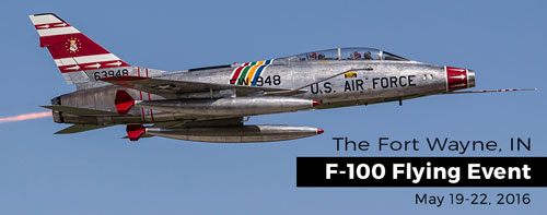 F-100 Flying Event